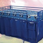 Sweet Dreams Twinkle Blue Mid Sleeper Bed Frame