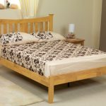 Asc 4ft Erin Small Double Oak Bed Frame (low Footend)