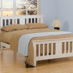 Sweet Dreams Kestral Single White Wooden Bed Frame