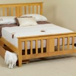 Sweet Dreams Kestral Double Oak Bed Frame