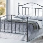 Birlea Victoria Double Black Nickel Bed Frame