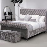 Asc Avia King Size Fabric Bed Frame