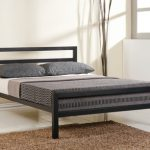 Time Living City Block King Size Black Metal Bed Frame