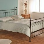 Limelight Libra Double Black Chrome Bed Frame