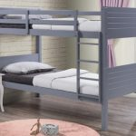 Birlea Dakota Grey Wooden Bunk Bed Frame