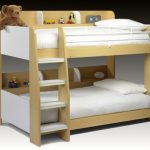 Julian Bowen Domino Maple And White Bunk Bed Frame
